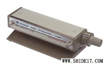 8496A Manual Step Attenuator